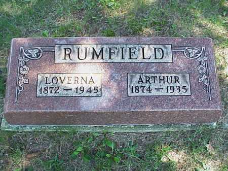 RUMFIELD, ARTHUR - Meigs County, Ohio | ARTHUR RUMFIELD - Ohio Gravestone Photos