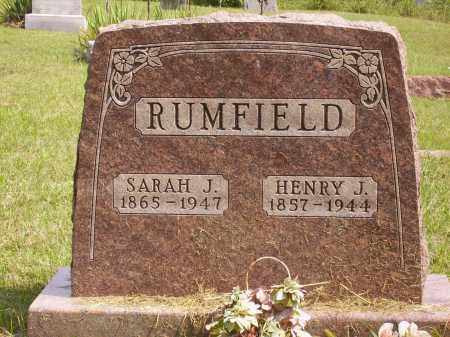 RUMFIELD, SARAH J. - Meigs County, Ohio | SARAH J. RUMFIELD - Ohio Gravestone Photos