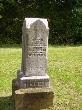 GOMER RUMFIELD, SARAH - Meigs County, Ohio | SARAH GOMER RUMFIELD - Ohio Gravestone Photos