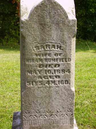 RUMFIELD, SARAH CLOSE VIEW - Meigs County, Ohio | SARAH CLOSE VIEW RUMFIELD - Ohio Gravestone Photos