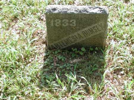 RUMSEY, ARTEMESIA - Meigs County, Ohio | ARTEMESIA RUMSEY - Ohio Gravestone Photos