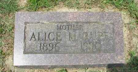 RUPE, ALICE M. - Meigs County, Ohio | ALICE M. RUPE - Ohio Gravestone Photos