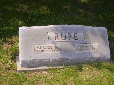 RUPE, CLAUDE M. - Meigs County, Ohio | CLAUDE M. RUPE - Ohio Gravestone Photos