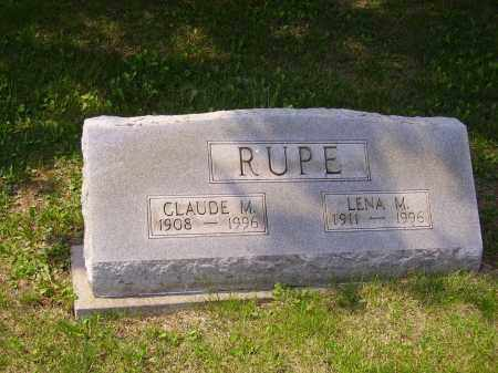 RUPE, CLAUDE M. - Meigs County, Ohio | CLAUDE M. RUPE - Ohio Gravestone Photos