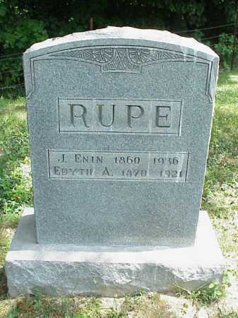 RUPE, EDYTH A. - Meigs County, Ohio | EDYTH A. RUPE - Ohio Gravestone Photos
