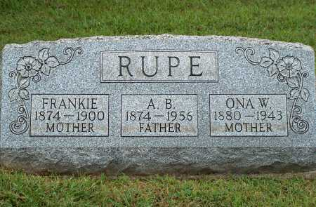 RUPE, A. B. - Meigs County, Ohio | A. B. RUPE - Ohio Gravestone Photos
