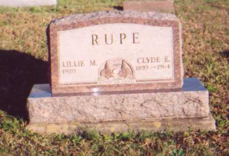 RUPE, LILLIE M. - Meigs County, Ohio | LILLIE M. RUPE - Ohio Gravestone Photos