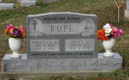 RUPE, LAWRENCE - Meigs County, Ohio | LAWRENCE RUPE - Ohio Gravestone Photos