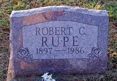 RUPE, ROBERT C. - Meigs County, Ohio | ROBERT C. RUPE - Ohio Gravestone Photos