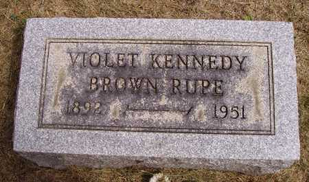 KENNEDY RUPE, VIOLET - Meigs County, Ohio | VIOLET KENNEDY RUPE - Ohio Gravestone Photos