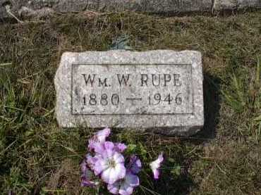 RUPE, WILLIAM W. - Meigs County, Ohio | WILLIAM W. RUPE - Ohio Gravestone Photos