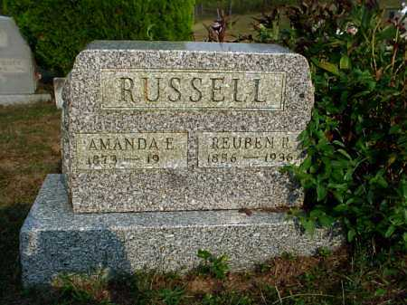 BISHOP RUSSELL, AMANDA E. - Meigs County, Ohio | AMANDA E. BISHOP RUSSELL - Ohio Gravestone Photos