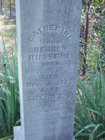 RUSSELL, CATHERINE - Meigs County, Ohio | CATHERINE RUSSELL - Ohio Gravestone Photos