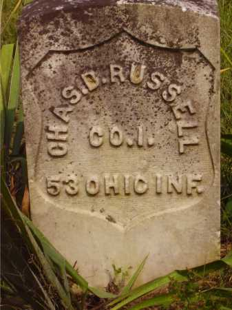 RUSSELL, CHAS. D. - Meigs County, Ohio | CHAS. D. RUSSELL - Ohio Gravestone Photos
