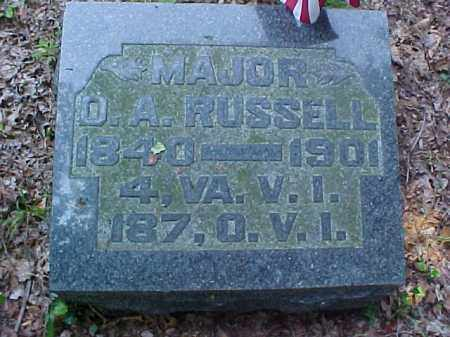 RUSSELL, D.A. - Meigs County, Ohio | D.A. RUSSELL - Ohio Gravestone Photos