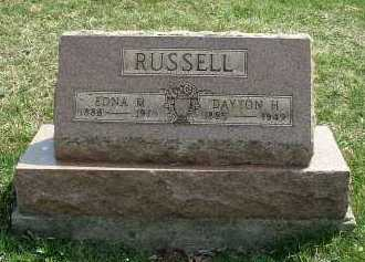 RUSSELL, EDNA M. - Meigs County, Ohio | EDNA M. RUSSELL - Ohio Gravestone Photos