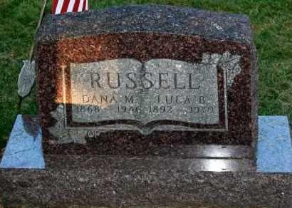 RUSSELL, DANA M. - Meigs County, Ohio | DANA M. RUSSELL - Ohio Gravestone Photos