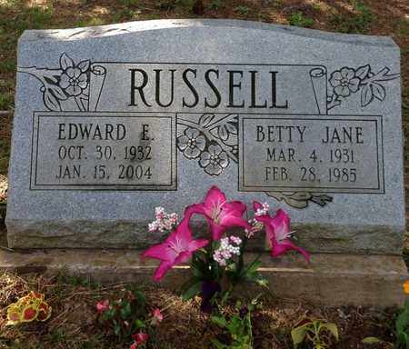 QUILLEN RUSSELL, BETTY - Meigs County, Ohio | BETTY QUILLEN RUSSELL - Ohio Gravestone Photos