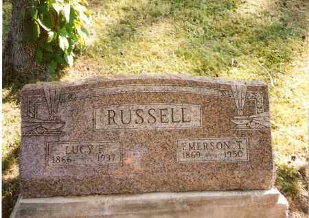 STILES RUSSELL, LUCY F. - Meigs County, Ohio | LUCY F. STILES RUSSELL - Ohio Gravestone Photos