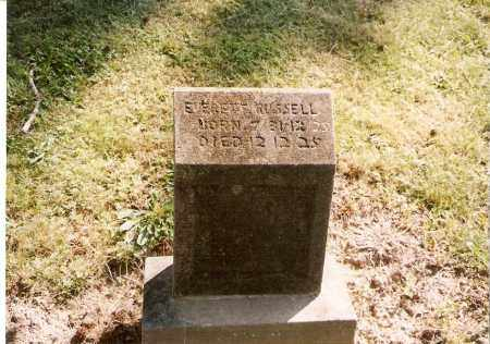 RUSSELL, EVERETT - Meigs County, Ohio | EVERETT RUSSELL - Ohio Gravestone Photos
