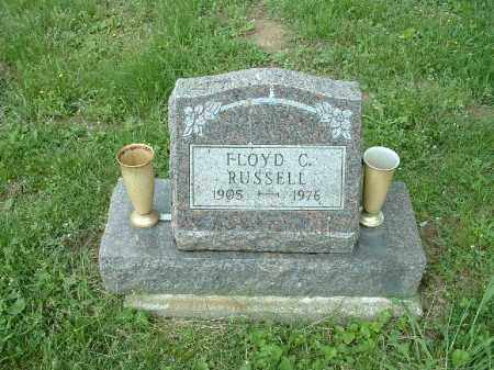 RUSSELL, FLOYD C. - Meigs County, Ohio | FLOYD C. RUSSELL - Ohio Gravestone Photos