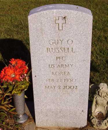 RUSSELL, GUY O. - Meigs County, Ohio | GUY O. RUSSELL - Ohio Gravestone Photos