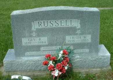RUSSELL, FREDA M. - Meigs County, Ohio | FREDA M. RUSSELL - Ohio Gravestone Photos