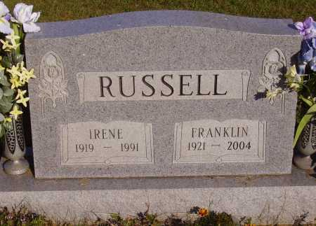 RUSSELL, FRANKLIN - Meigs County, Ohio | FRANKLIN RUSSELL - Ohio Gravestone Photos