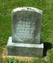 RUSSELL, ISAAC E. - Meigs County, Ohio | ISAAC E. RUSSELL - Ohio Gravestone Photos