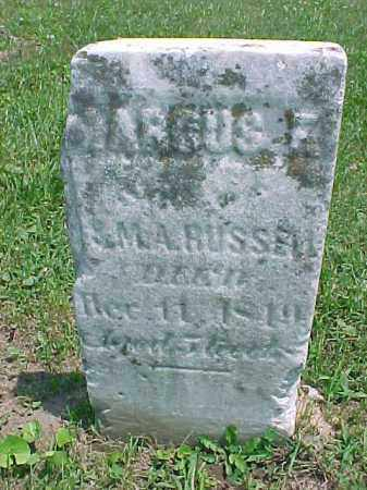 RUSSELL, MARCUS F. - Meigs County, Ohio | MARCUS F. RUSSELL - Ohio Gravestone Photos