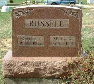 RUSSELL, ZELLA A. - Meigs County, Ohio | ZELLA A. RUSSELL - Ohio Gravestone Photos