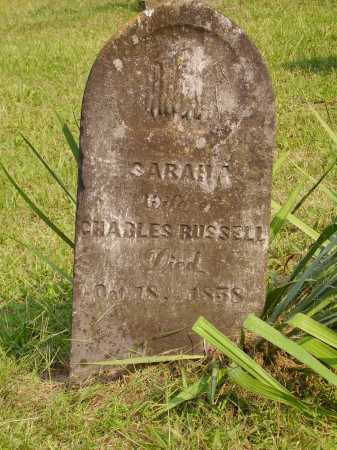 RUSSELL, SARAH A. - Meigs County, Ohio | SARAH A. RUSSELL - Ohio Gravestone Photos