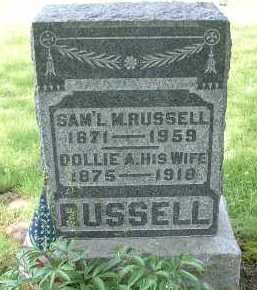 RUSSELL, DOLLIE A. - Meigs County, Ohio | DOLLIE A. RUSSELL - Ohio Gravestone Photos