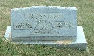 RUSSELL, LEONA - Meigs County, Ohio | LEONA RUSSELL - Ohio Gravestone Photos