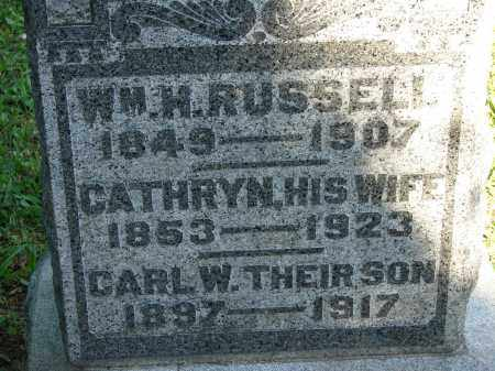 RUSSELL, CARL W - Meigs County, Ohio | CARL W RUSSELL - Ohio Gravestone Photos