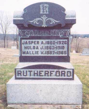 RUTHERFORD, MALLIE V. - Meigs County, Ohio | MALLIE V. RUTHERFORD - Ohio Gravestone Photos