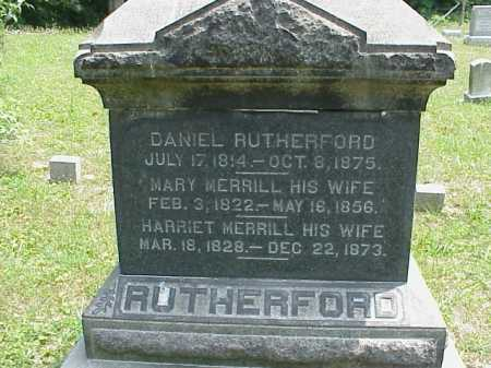 RUTHERFORD, MARY - Meigs County, Ohio | MARY RUTHERFORD - Ohio Gravestone Photos