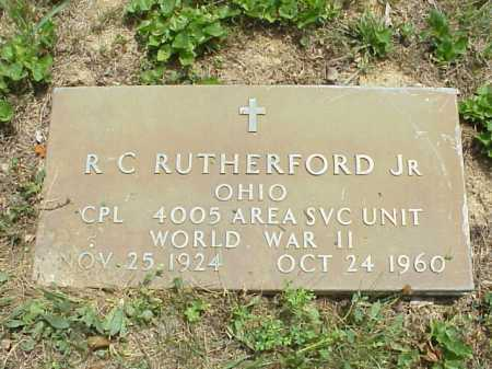 RUTHERFORD, R. C. JR. - Meigs County, Ohio | R. C. JR. RUTHERFORD - Ohio Gravestone Photos