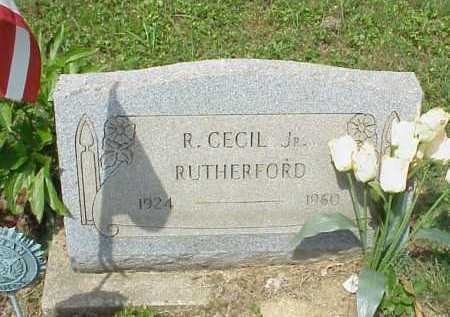 RUTHERFORD, R. CECIL JR. - Meigs County, Ohio | R. CECIL JR. RUTHERFORD - Ohio Gravestone Photos