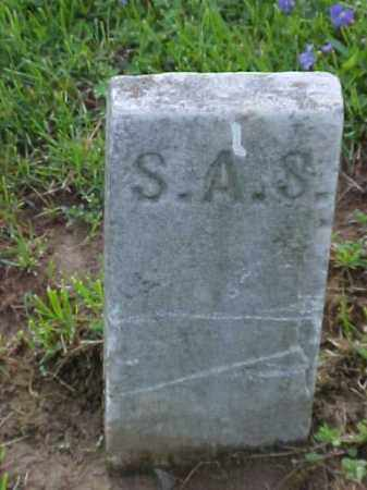 S., S. A. - Meigs County, Ohio | S. A. S. - Ohio Gravestone Photos