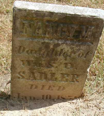 SADLER, NANCY M. - Meigs County, Ohio | NANCY M. SADLER - Ohio Gravestone Photos