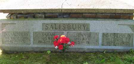SALISBURY, JENNIE - Meigs County, Ohio | JENNIE SALISBURY - Ohio Gravestone Photos