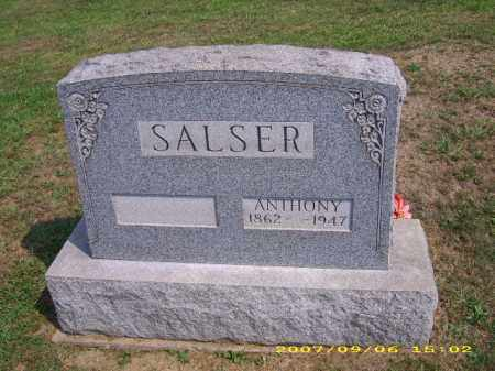 SALSER, ANTHONY - Meigs County, Ohio | ANTHONY SALSER - Ohio Gravestone Photos