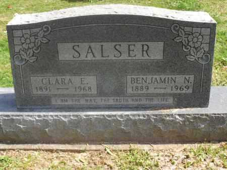 ROUSH SALSER, CLARA E. - Meigs County, Ohio | CLARA E. ROUSH SALSER - Ohio Gravestone Photos