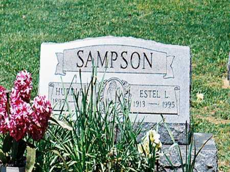 SAMPSON, ESTEL L. - Meigs County, Ohio | ESTEL L. SAMPSON - Ohio Gravestone Photos