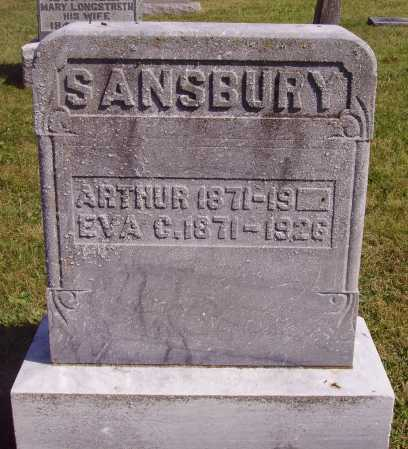 SANBURY, ARTHUR - Meigs County, Ohio | ARTHUR SANBURY - Ohio Gravestone Photos