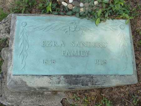 SANDERS, EZRA - Meigs County, Ohio | EZRA SANDERS - Ohio Gravestone Photos