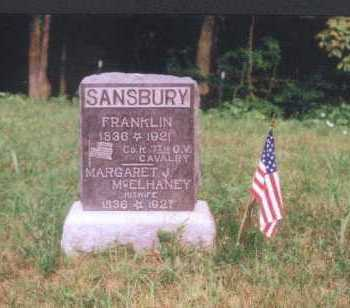 SANSBURY, MARGARET J. - Meigs County, Ohio | MARGARET J. SANSBURY - Ohio Gravestone Photos