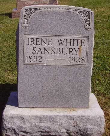 WHITE SANSBURY, IRENE - Meigs County, Ohio | IRENE WHITE SANSBURY - Ohio Gravestone Photos