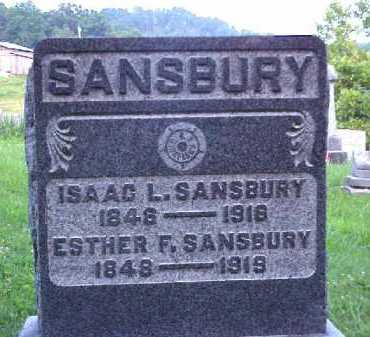 SANSBURY, ISAAC L. - Meigs County, Ohio | ISAAC L. SANSBURY - Ohio Gravestone Photos